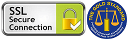 SSL Secure Site & members of the Gold Standard